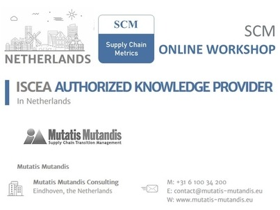 supply chain metrics footer
